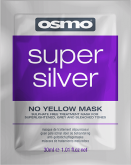 Super Silver No Yellow Mask